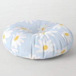 Lazy Daisies  Floor Pillow