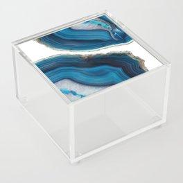 Blue Agate Acrylic Box