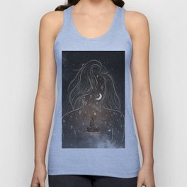 I see the universe in you. Unisex Tank Top