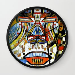 In Rememberance Of The Great Inca Civilization Wall Clock