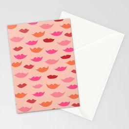 LIP SERVICE {peach} Stationery Cards