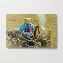 BEARY STEAM DREAM Metal Print
