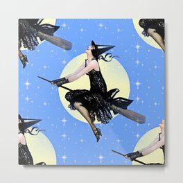 The Modern Witch Metal Print