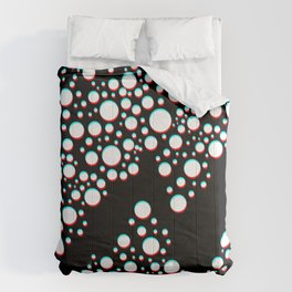 Double 3d bubble Comforters