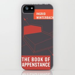 The Book of Happenstance iPhone Case