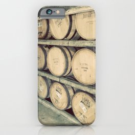 Kentucky Bourbon Barrels Color Photo iPhone Case