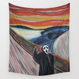 Scream Wall Tapestry