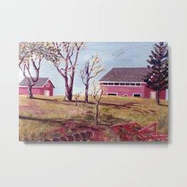 Evangeline  Trail, Nova Scotia             By Kay Lipton Metal Print