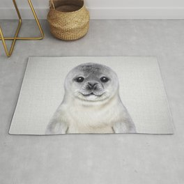 Baby Seal - Colorful Rug