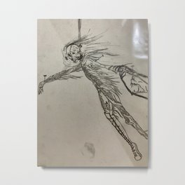 Pinned down Metal Print