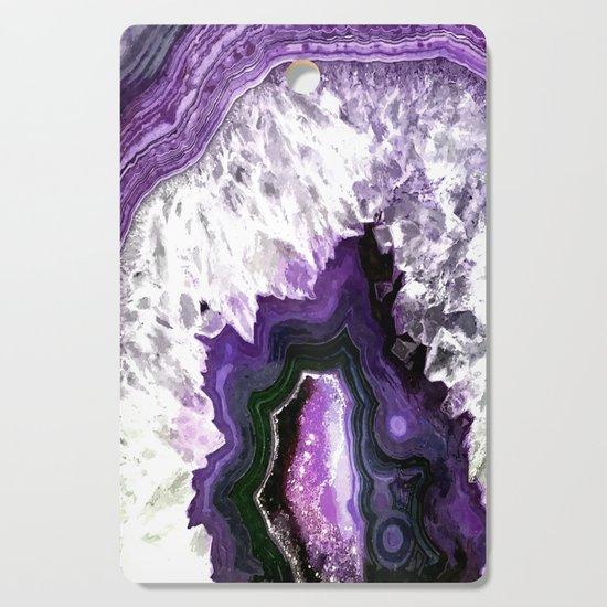 Ultra Violet Agate Illustration by alemi