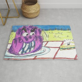 The Jelly Monster! Rug