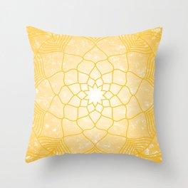The Solar Plexus Chakra Throw Pillow