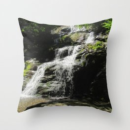 Down in the Hollow Throw Pillow