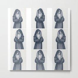 Prayer - Français - Costume religieux des Filles Pénitentes d'après Poilly Metal Print