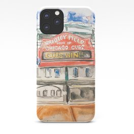 Wrigley Field iPhone Case