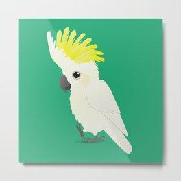 Sulphur-crested cockatoo Metal Print
