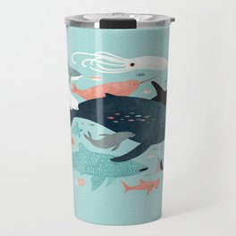 Under the Sea Menagerie Travel Mug