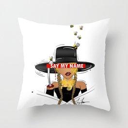 Queen Candy Ma'am Throw Pillow
