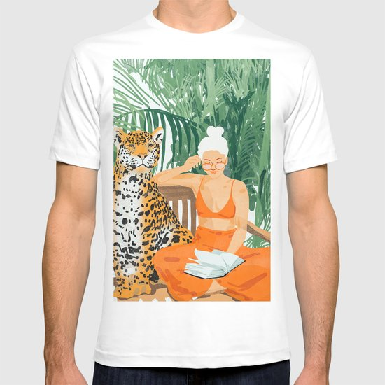 Jungle Vacay #painting #illustration by 83oranges