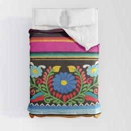 Pink Serape  Comforters