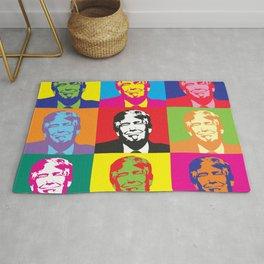 Trump Presidential Pop Art Rug