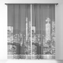 New York Sheer Curtain