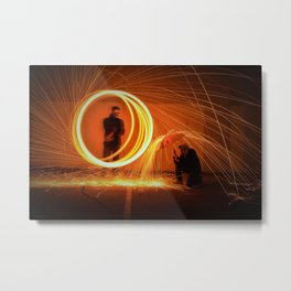THE ATTACK Metal Print