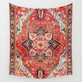Heriz Azerbaijan Northwest Persian Rug Print Wall Tapestry