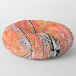 Weathered Wood Shutter rustic decor Floor Pillow