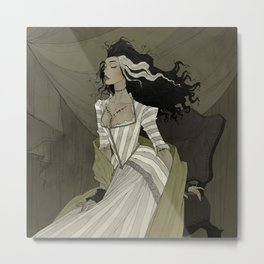 A Bride for the Monster Metal Print
