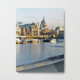 London morning Metal Print