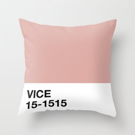 vice Throw Pillow