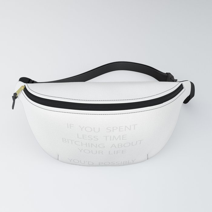 Sarcastic - Enjoy Life Witty - Funny Fanny Pack