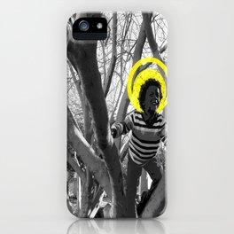 CareFreeBlackChild iPhone Case