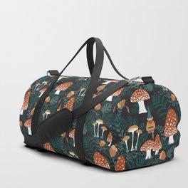 Mushroom Forest Gnomes Duffle Bag