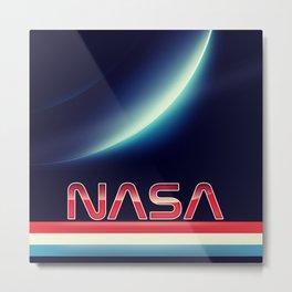 NASA Earthrise Metal Print