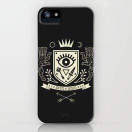 The Secret Society iPhone Case