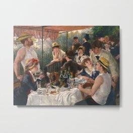 Auguste Renoir - Luncheon of the Boating Party (Le déjeuner des canotiers) Metal Print