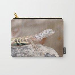 Watercolor Lizard, Greater Earless Lizard 01, Ventana Canyon, Arizona Carry-All Pouch