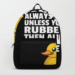 Rubber duck Squeak duck Bath duck Duck Backpack
