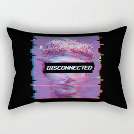 David Statue Anti-Social Aesthetic Art Gift Rectangular Pillow