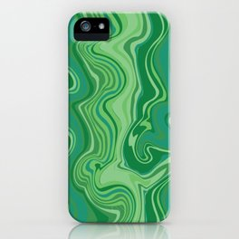 Marbled Pattern - It's A Jungle Out There iPhone Case
