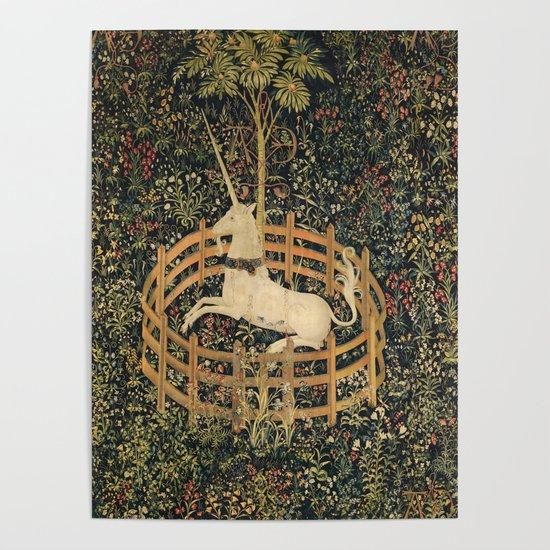 The Unicorn In Captivity by artgallery