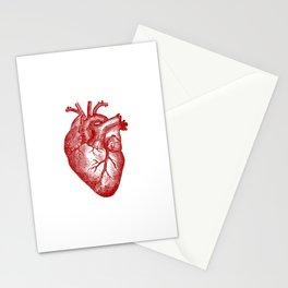 Vintage Heart Anatomy Stationery Cards
