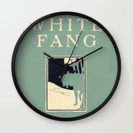 Jack London - White Fang Wall Clock