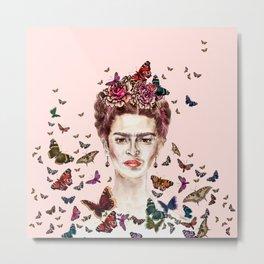 Frida Kahlo - Mexico Metal Print