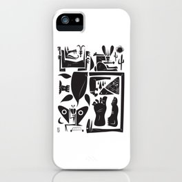 Cryptids iPhone Case