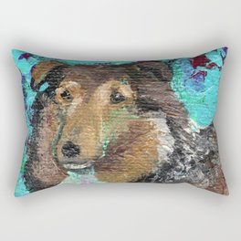 Andrea the Sheltie Rectangular Pillow