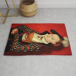"Lucas Cranach the Elder ""Portrait of Christiana Eulenau"" Rug"